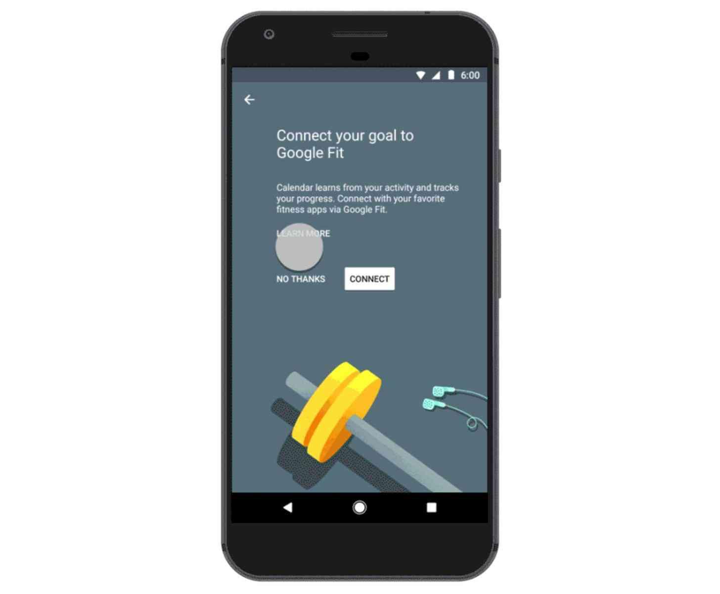 Google Calendar Google Fit, Apple Health integration
