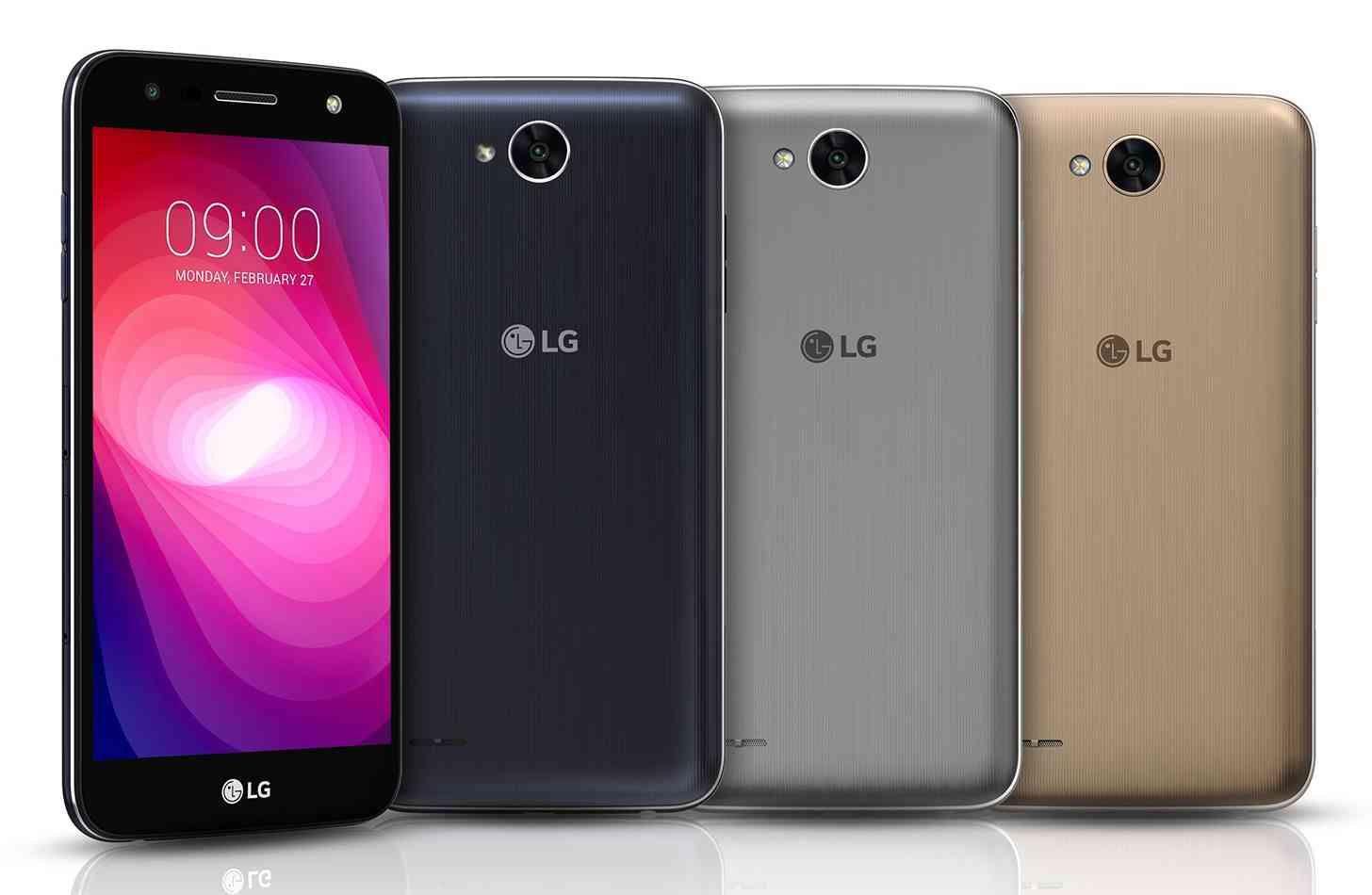 LG X power2 official colors