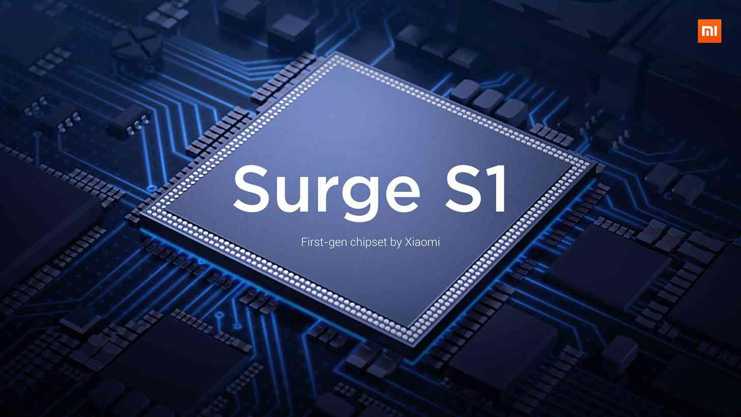 Xiaomi Surge S1 processor official