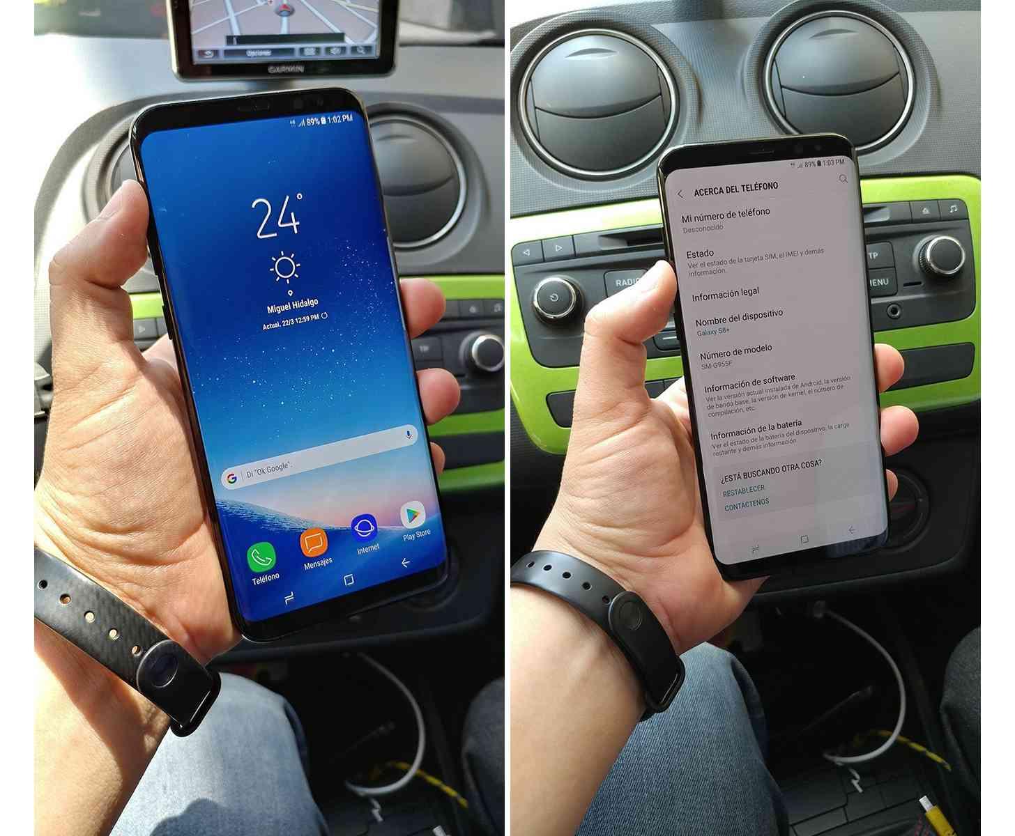 Samsung Galaxy S8+ hands-on photos leak