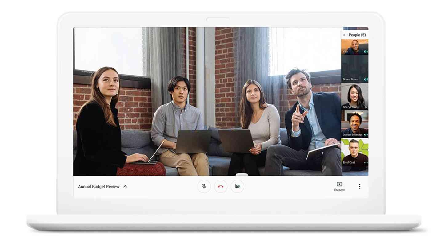 Google Hangouts Meet video conference app official
