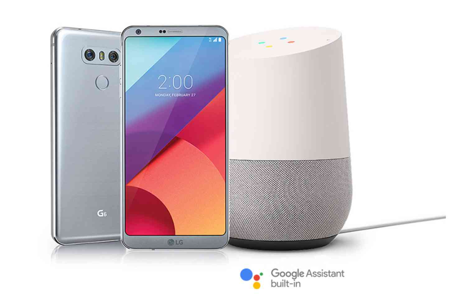 LG G6 free Google Home promotion