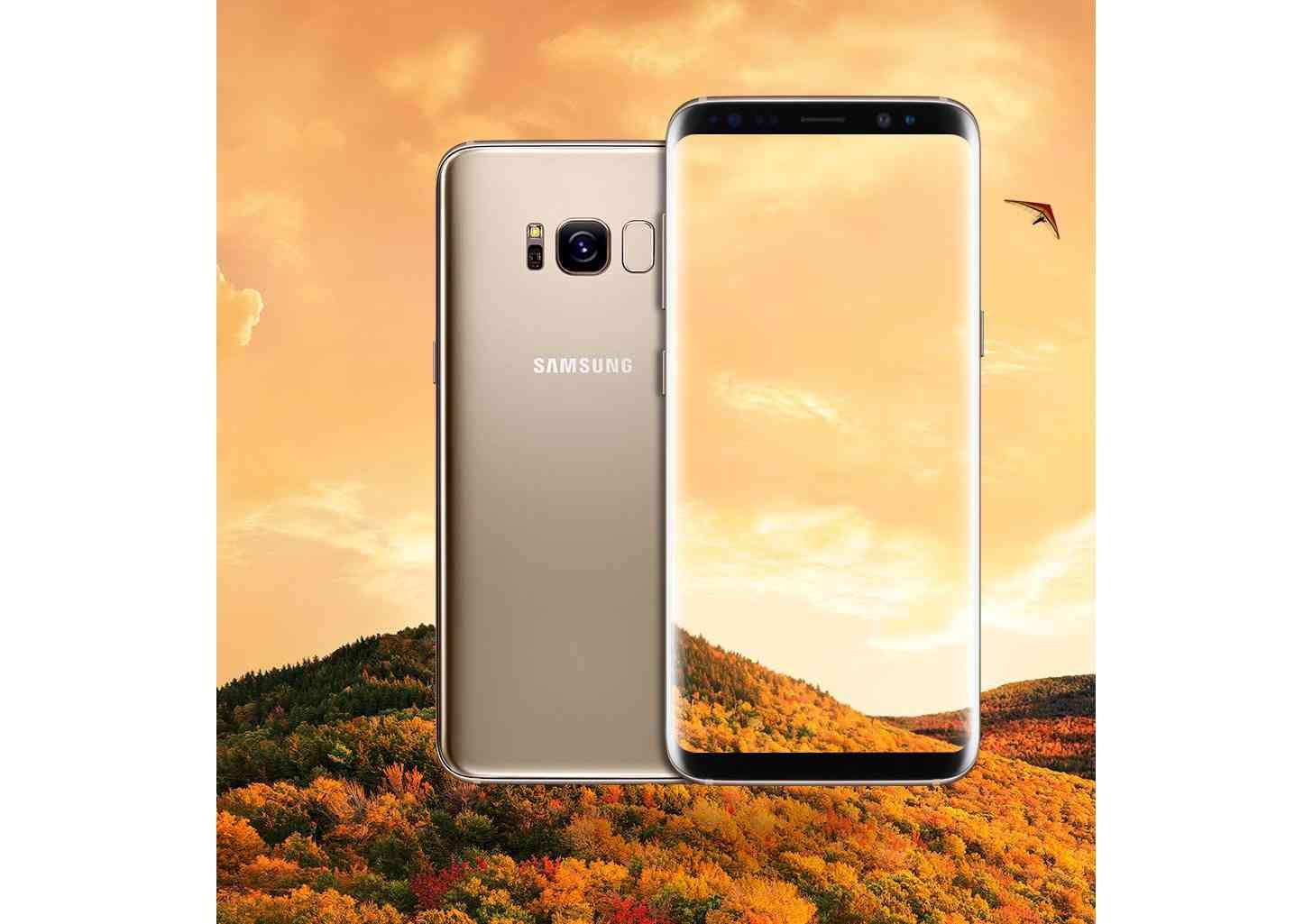 Samsung Galaxy S8 gold image leak
