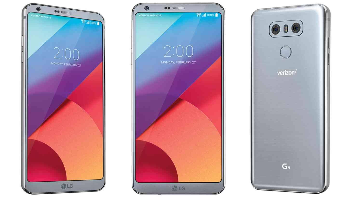 Verizon LG G6 official branding
