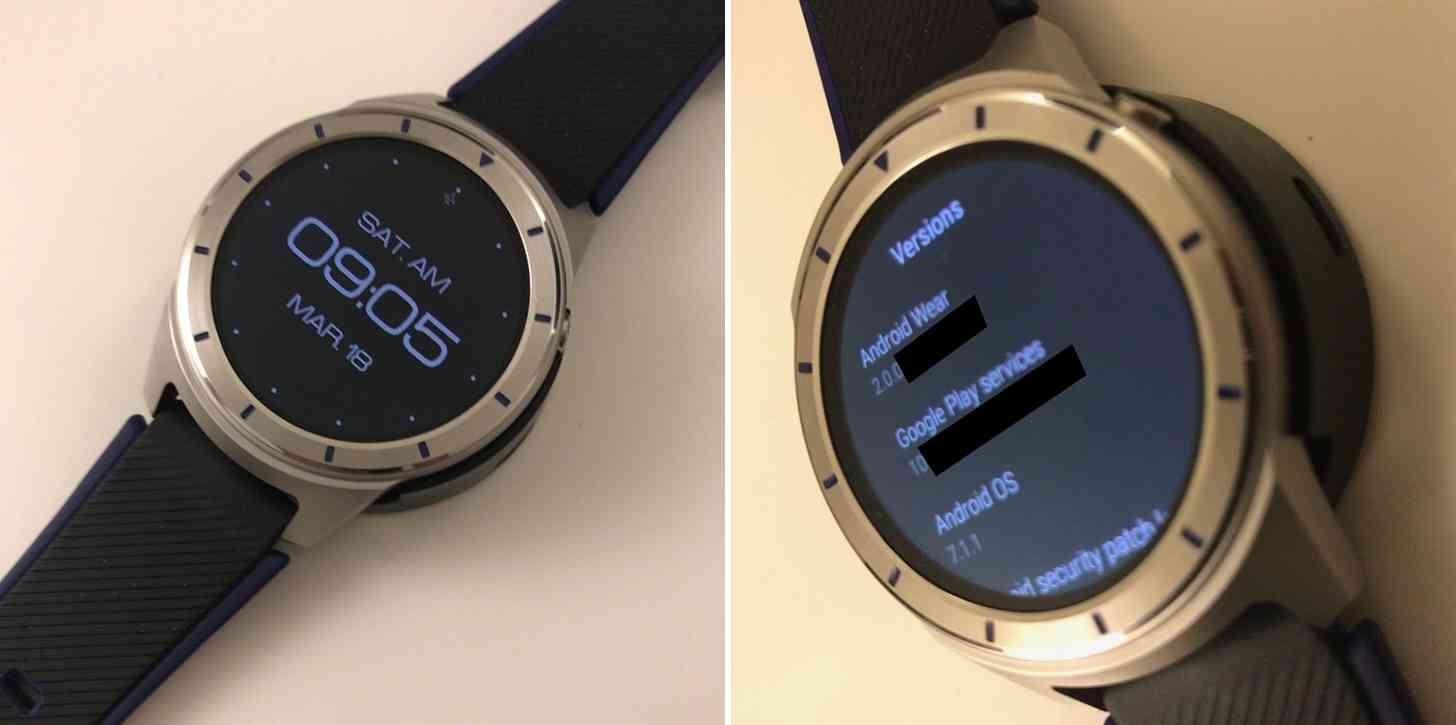 ZTE Quartz smartwatch hands-on photos leak