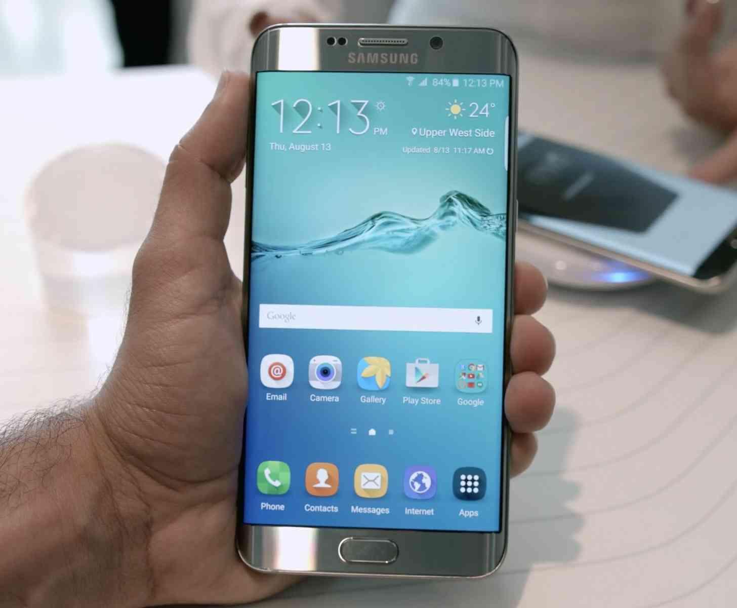 Samsung Galaxy S6 edge+ hands-on video