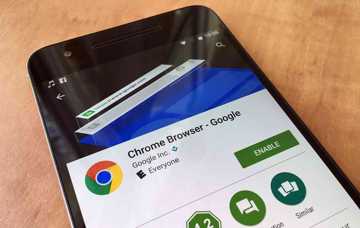 Google Chrome Android app