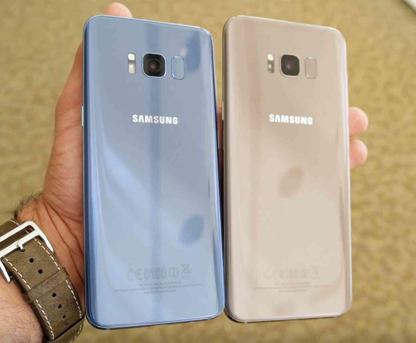 Samsung Galaxy S8 rear hands-on