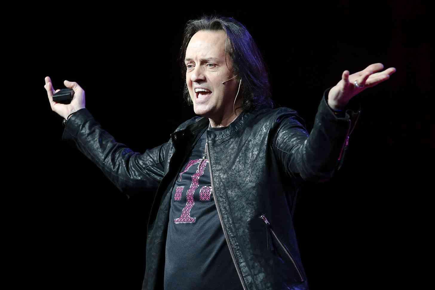 T-Mobile CEO John Legere event