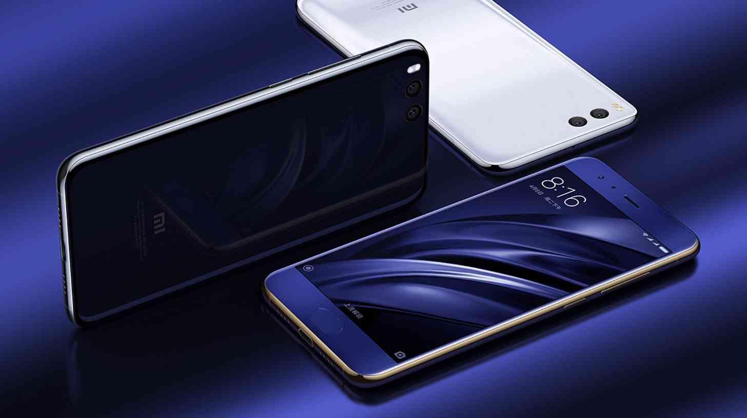 Xiaomi Mi 6 official colors
