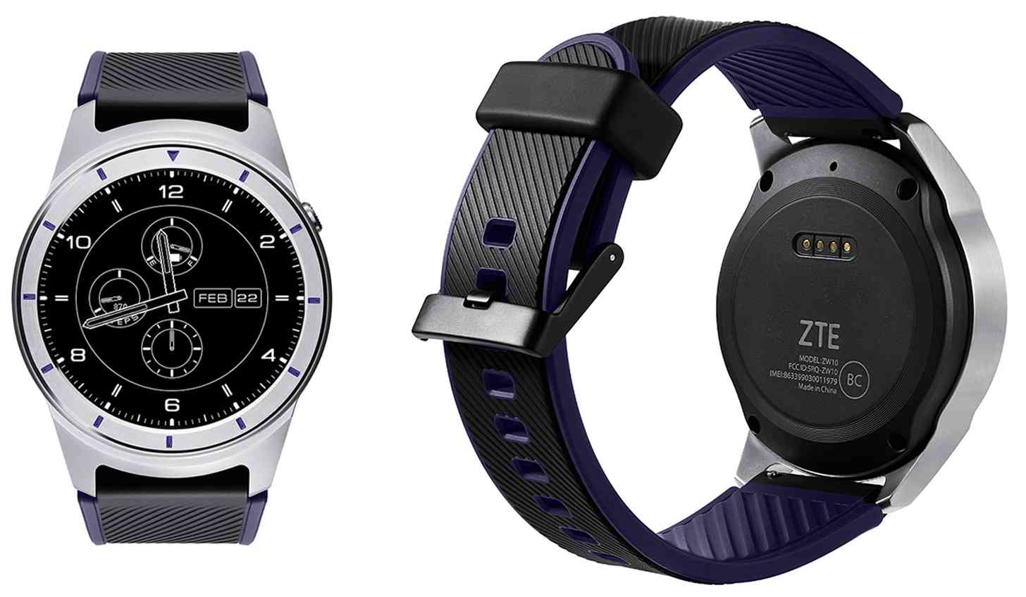 ZTE Quartz T-Mobile Android Wear 2.0 smartwatch
