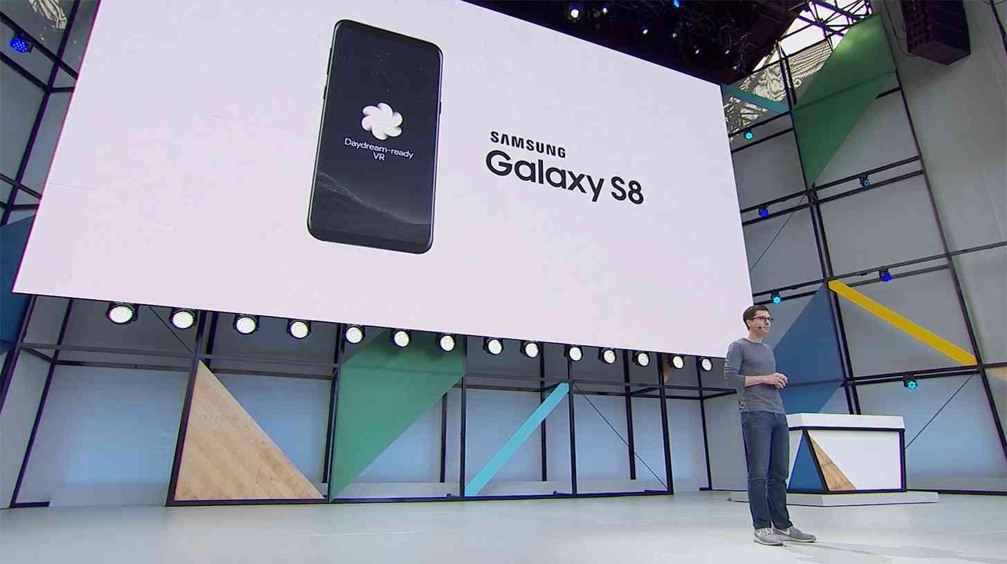 Samsung Galaxy S8 Google Daydream VR support