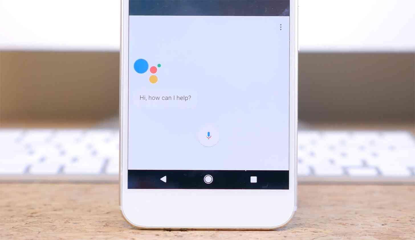 Google Assistant Pixel XL