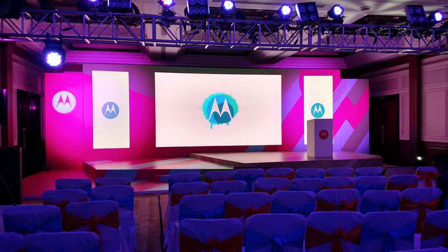 Motorola logo event