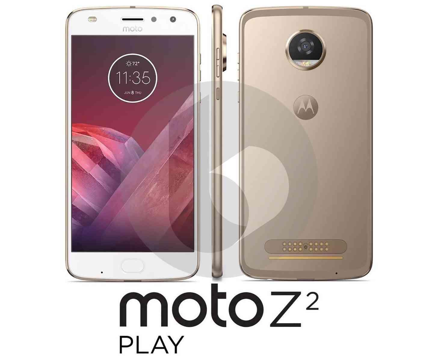 Moto Z2 Play image leak