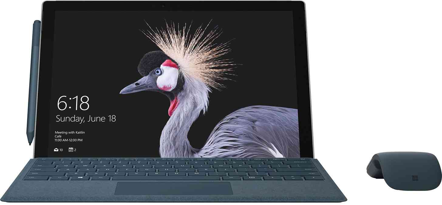 New Microsoft Surface Pro 2017