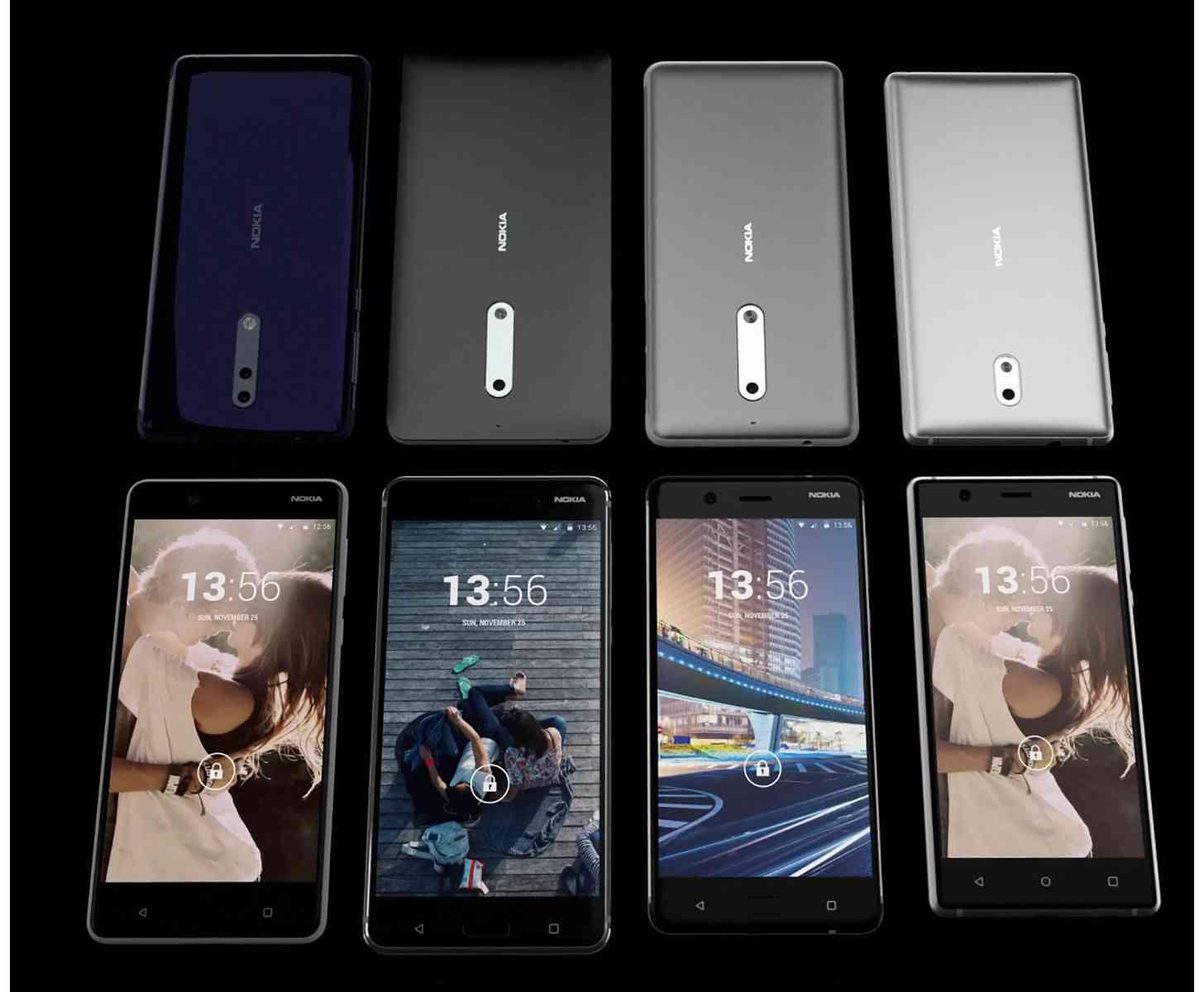 Nokia 8, Nokia 9 video leak
