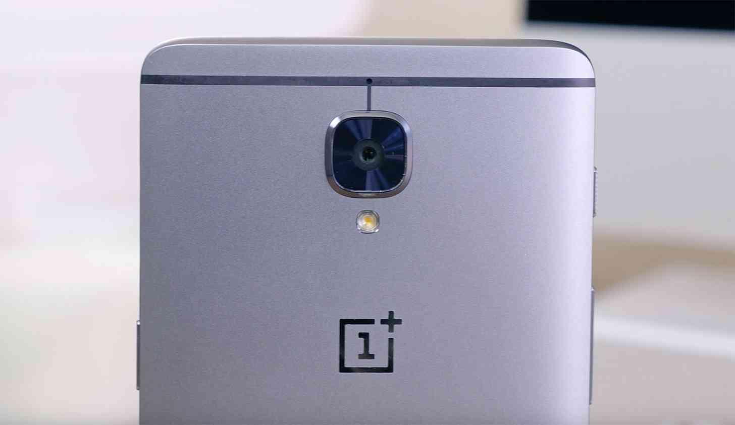 OnePlus 3 rear camera