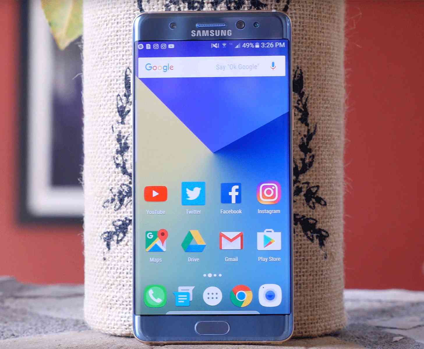 Samsung Galaxy Note 7 Blue Coral hands-on video