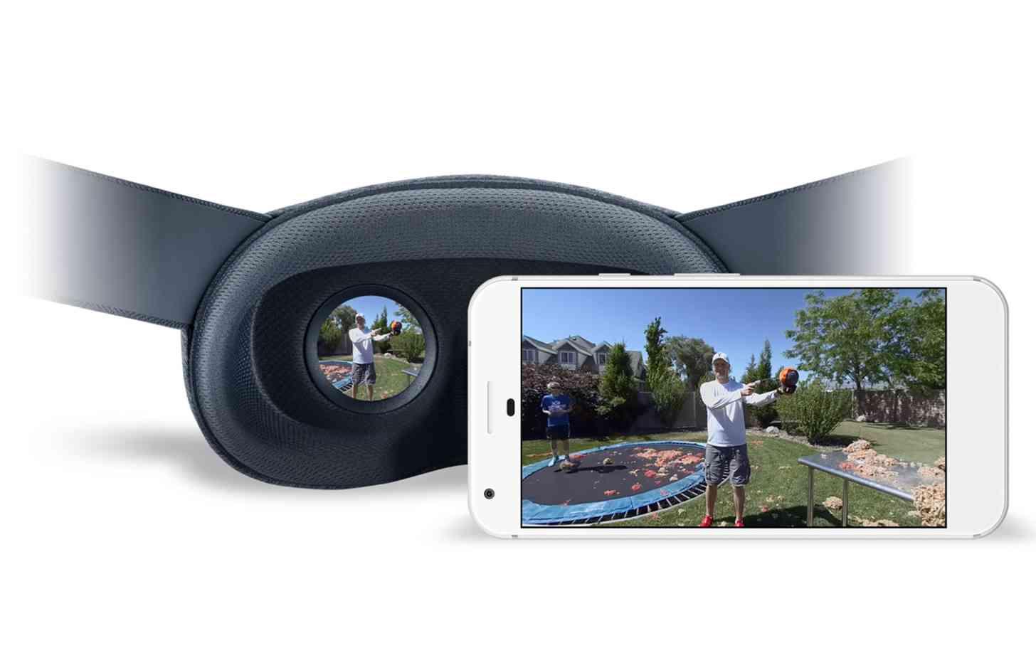 Google VR180 format