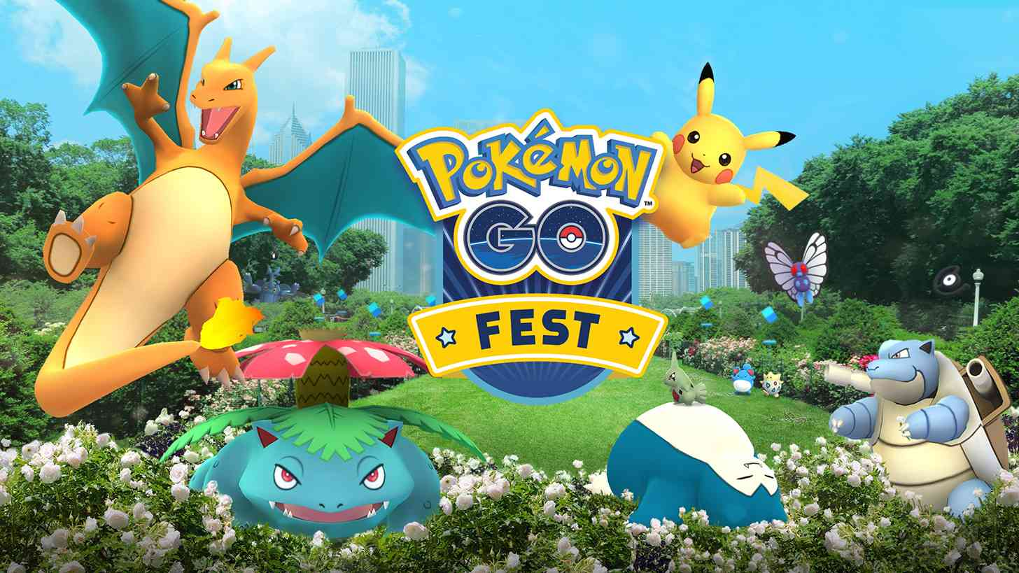 Pokémon Go Fest one-year anniversary event