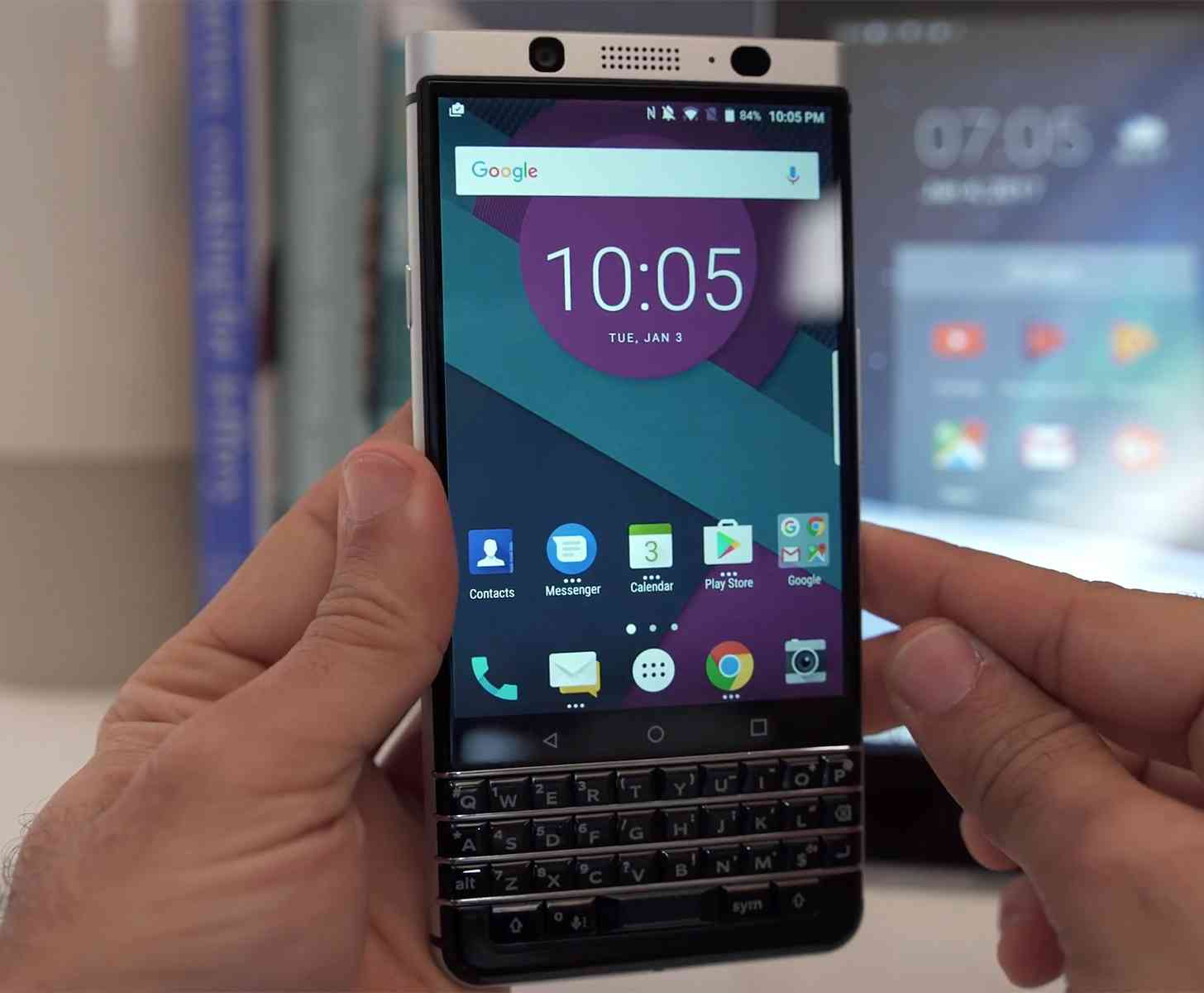 BlackBerry KEYone hands-on video