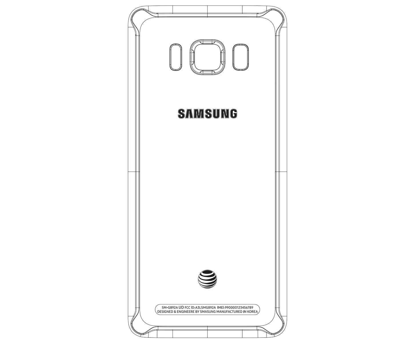 Samsung Galaxy S8 Active AT&T FCC leak
