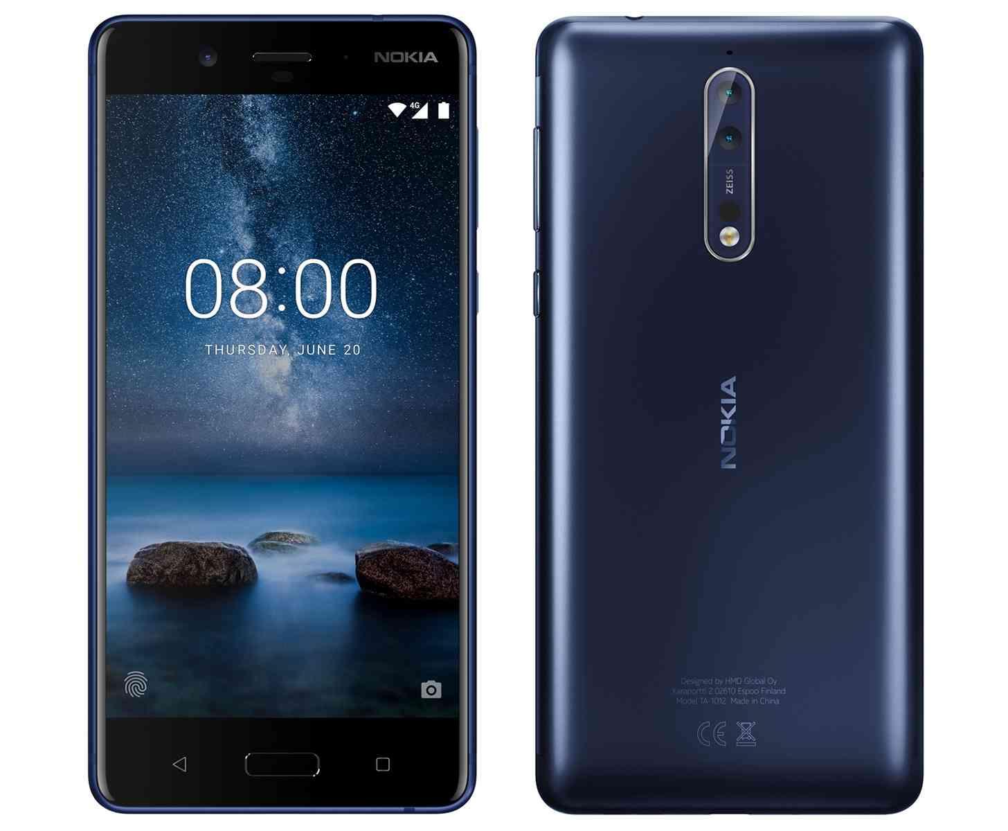 Nokia 8 image leak