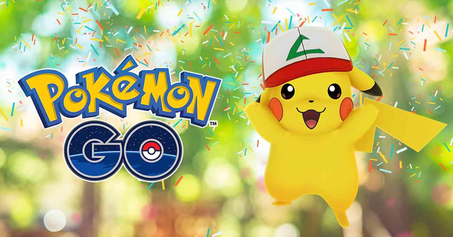Pokémon Go Pikachu Ash hat limited edition