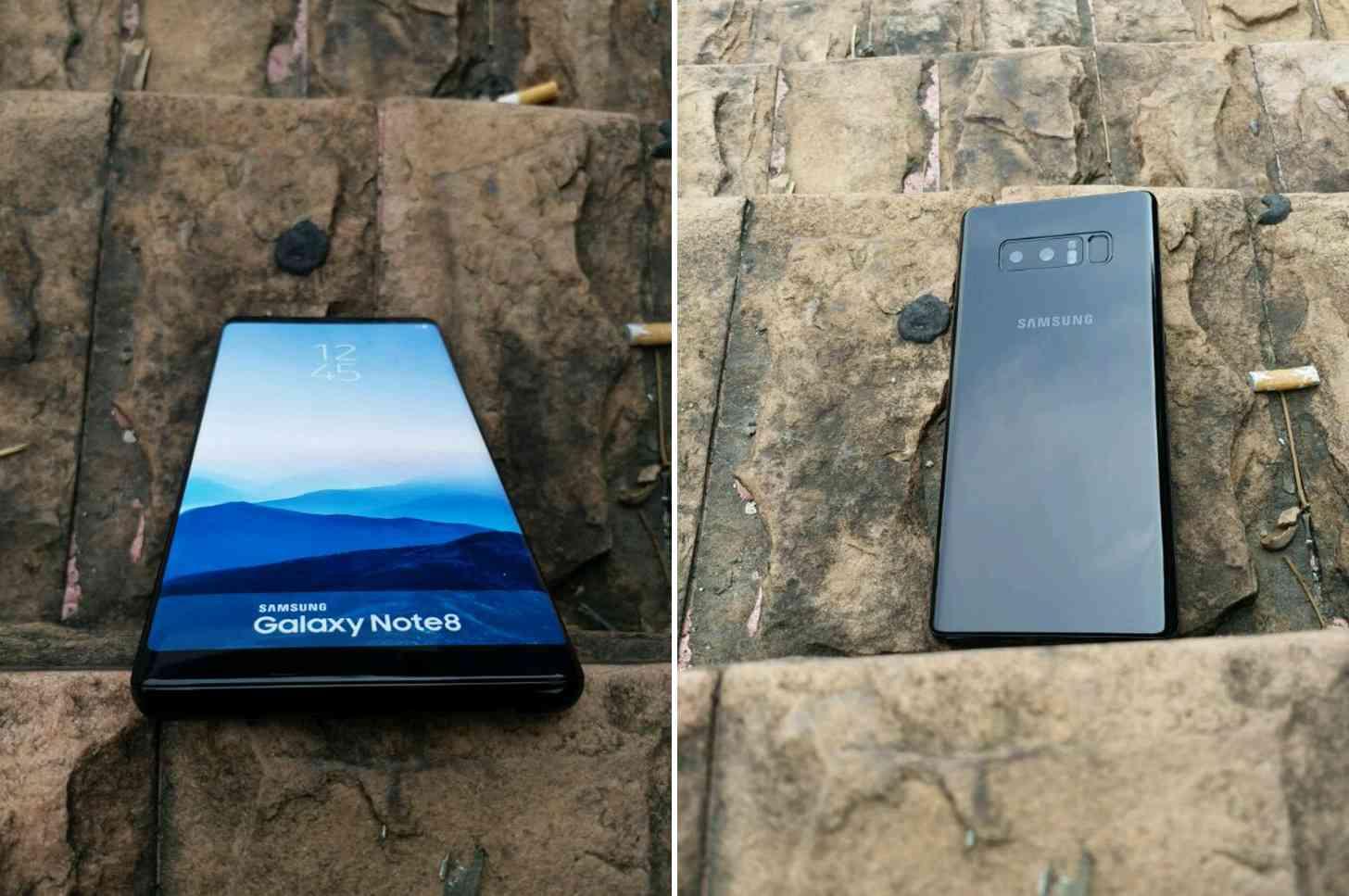 Samsung Galaxy Note 8 photos leak