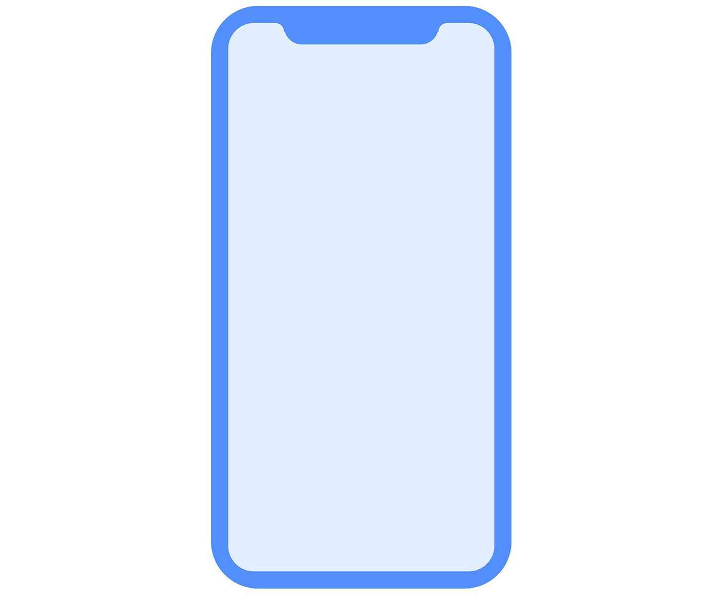 Apple iPhone 8 design leak