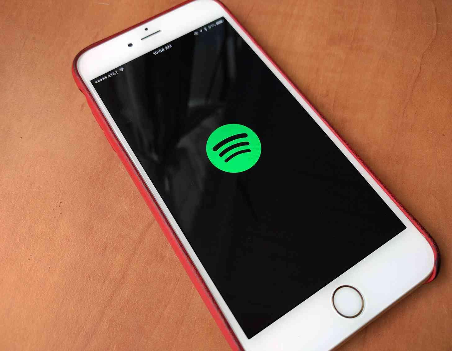 Spotify logo iPhone app