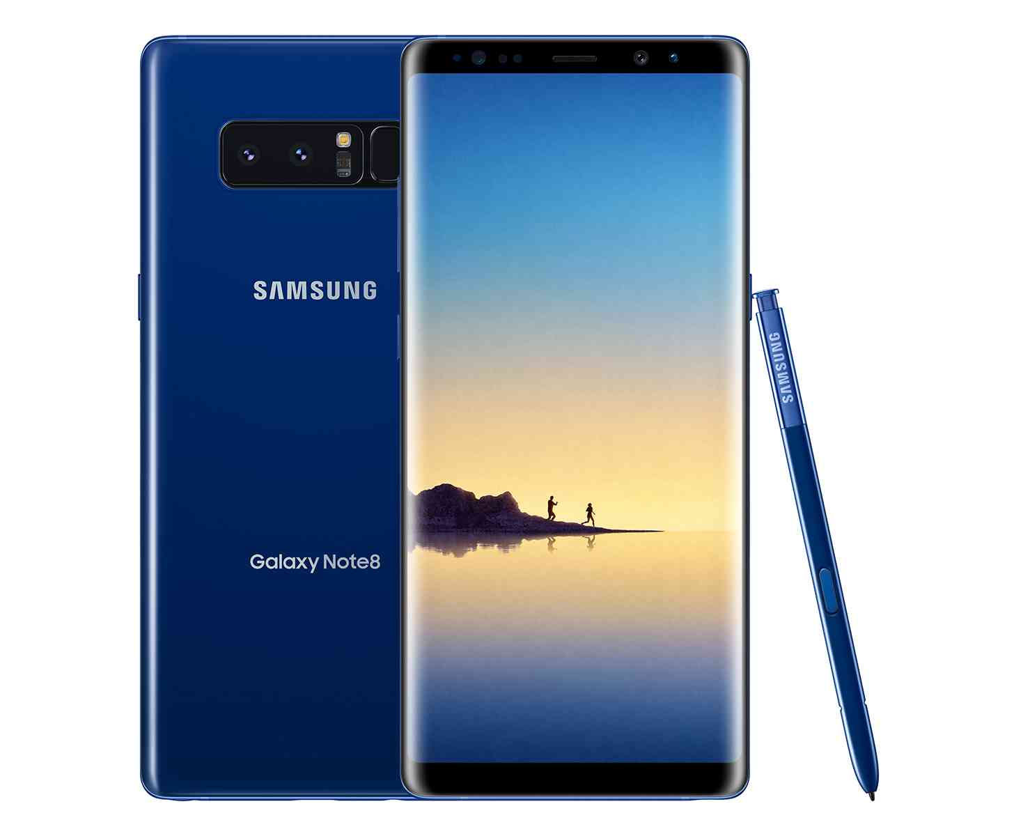 Samsung Galaxy Note 8 Deepsea Blue official images
