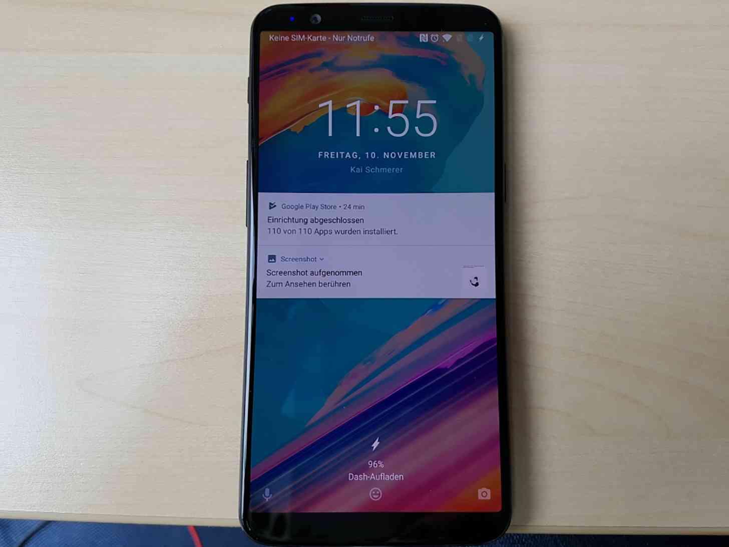 OnePlus 5T hands-on photo leak