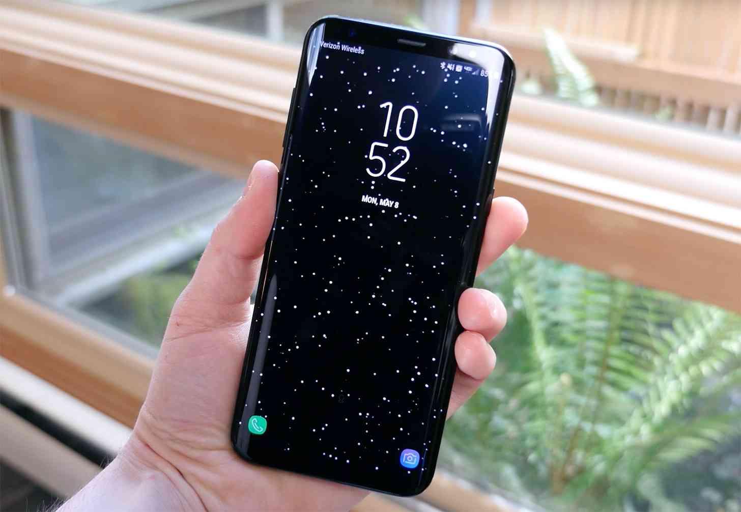 Samsung Galaxy S8 lock screen