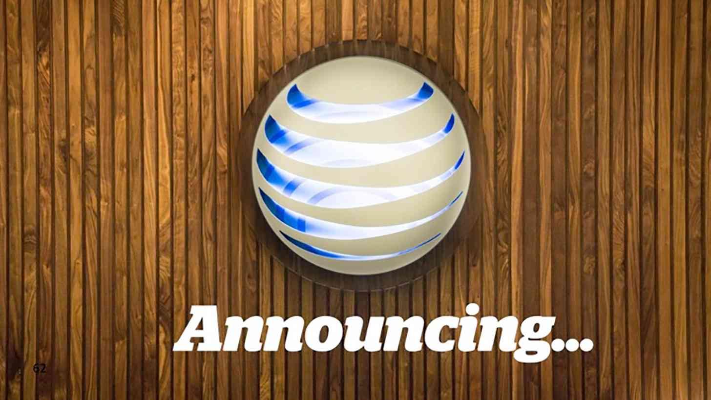 AT&T announcing globe logo