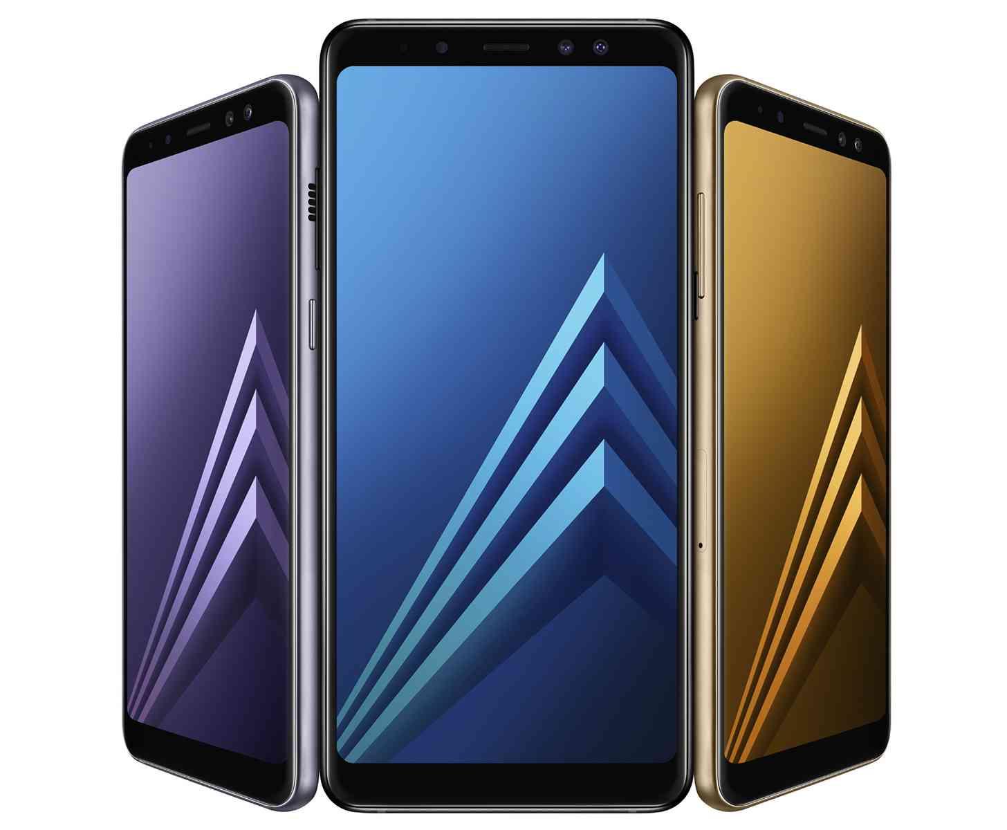 Samsung Galaxy A8 (2018), Galaxy A8+ (2018) official