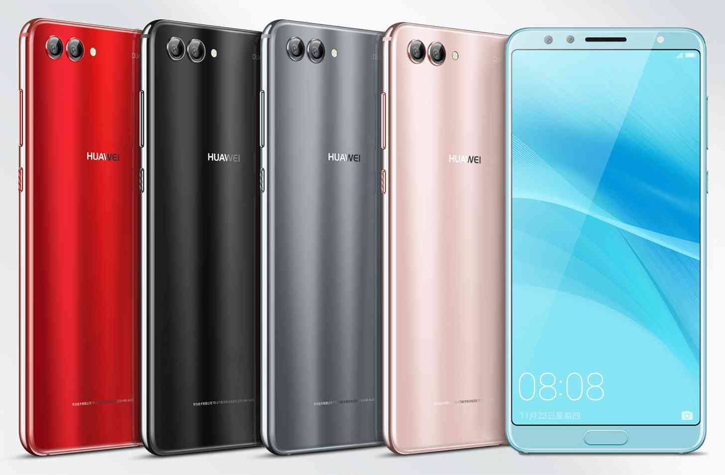 Huawei Nova 2s colors official