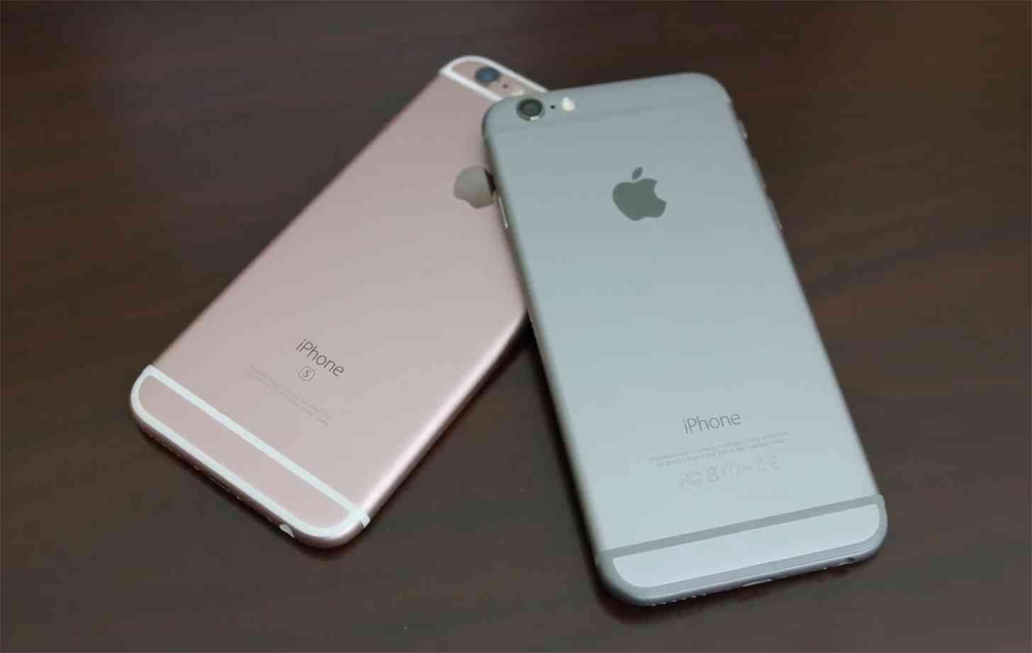 iPhone 6, iPhone 6s comparison