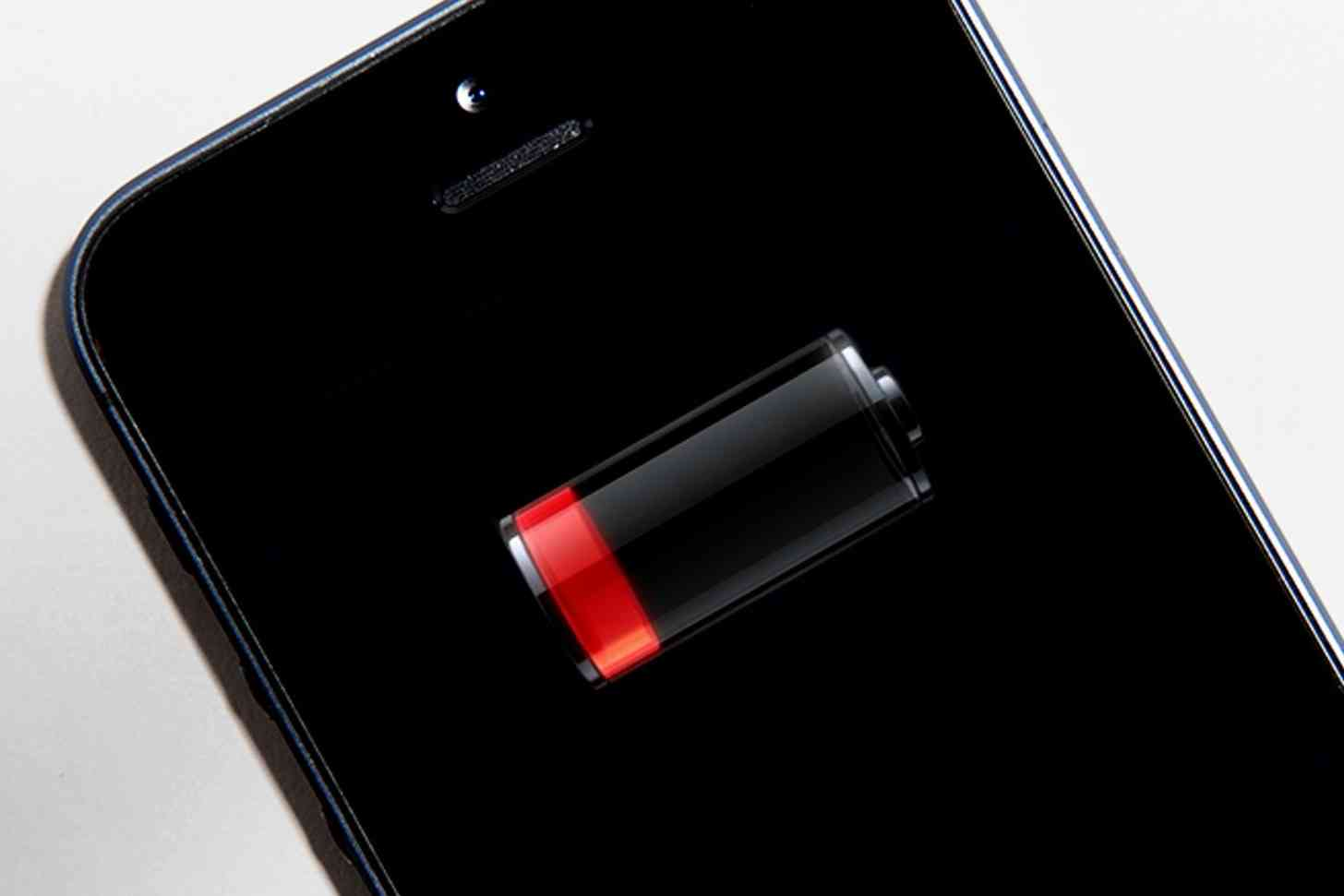 Apple iPhone low battery