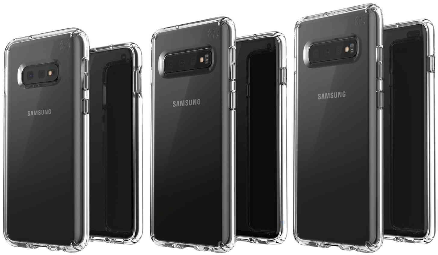 Samsung Galaxy S10E, S10, S10+