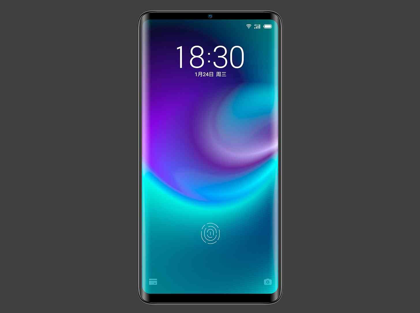 Meizu Zero holeless phone