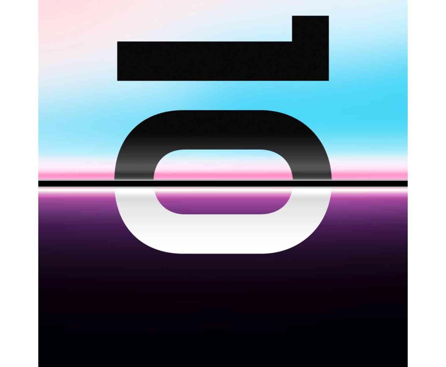 Samsung Galaxy S10 event teaser