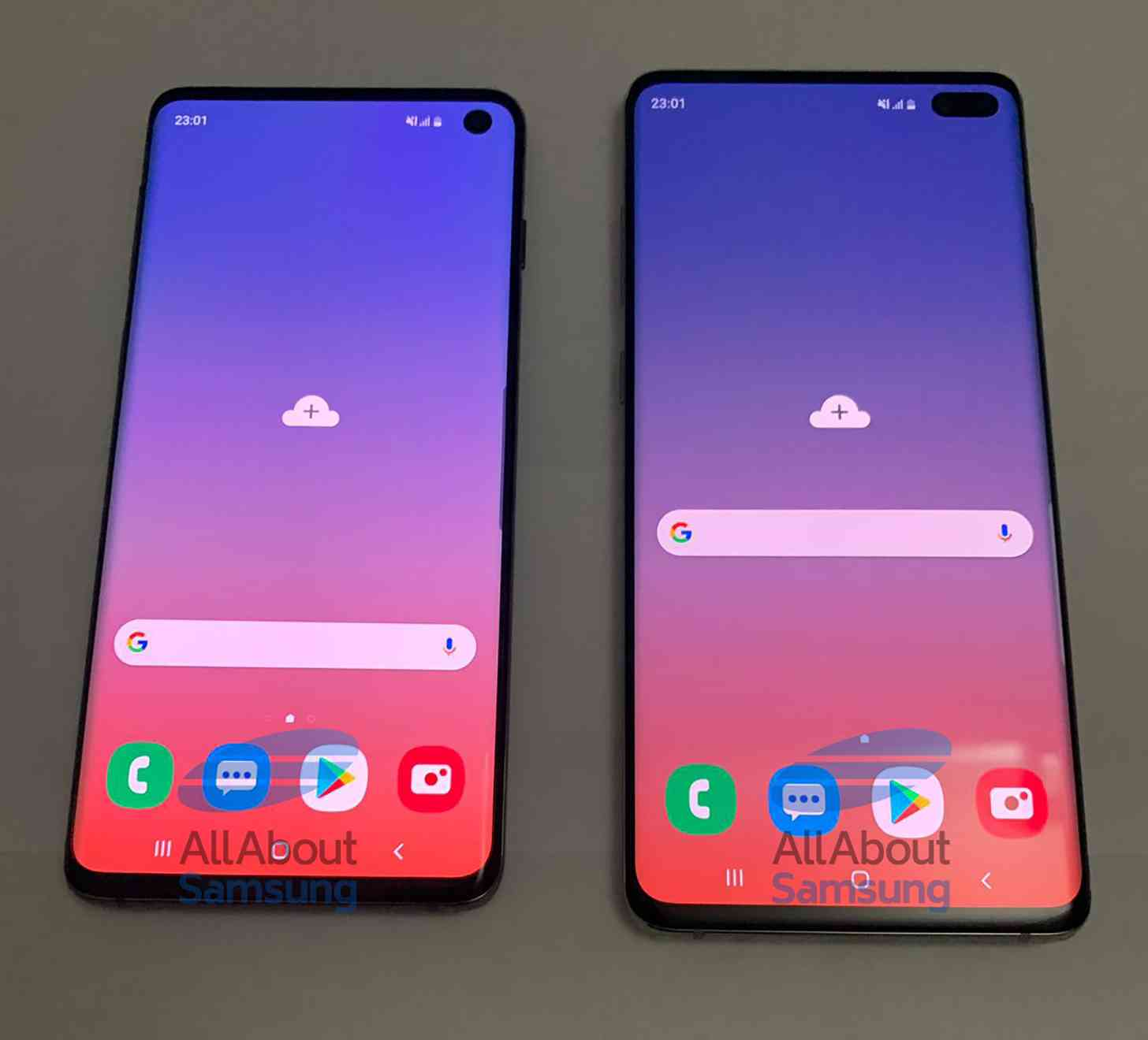 Samsung Galaxy S10, S10+ leak