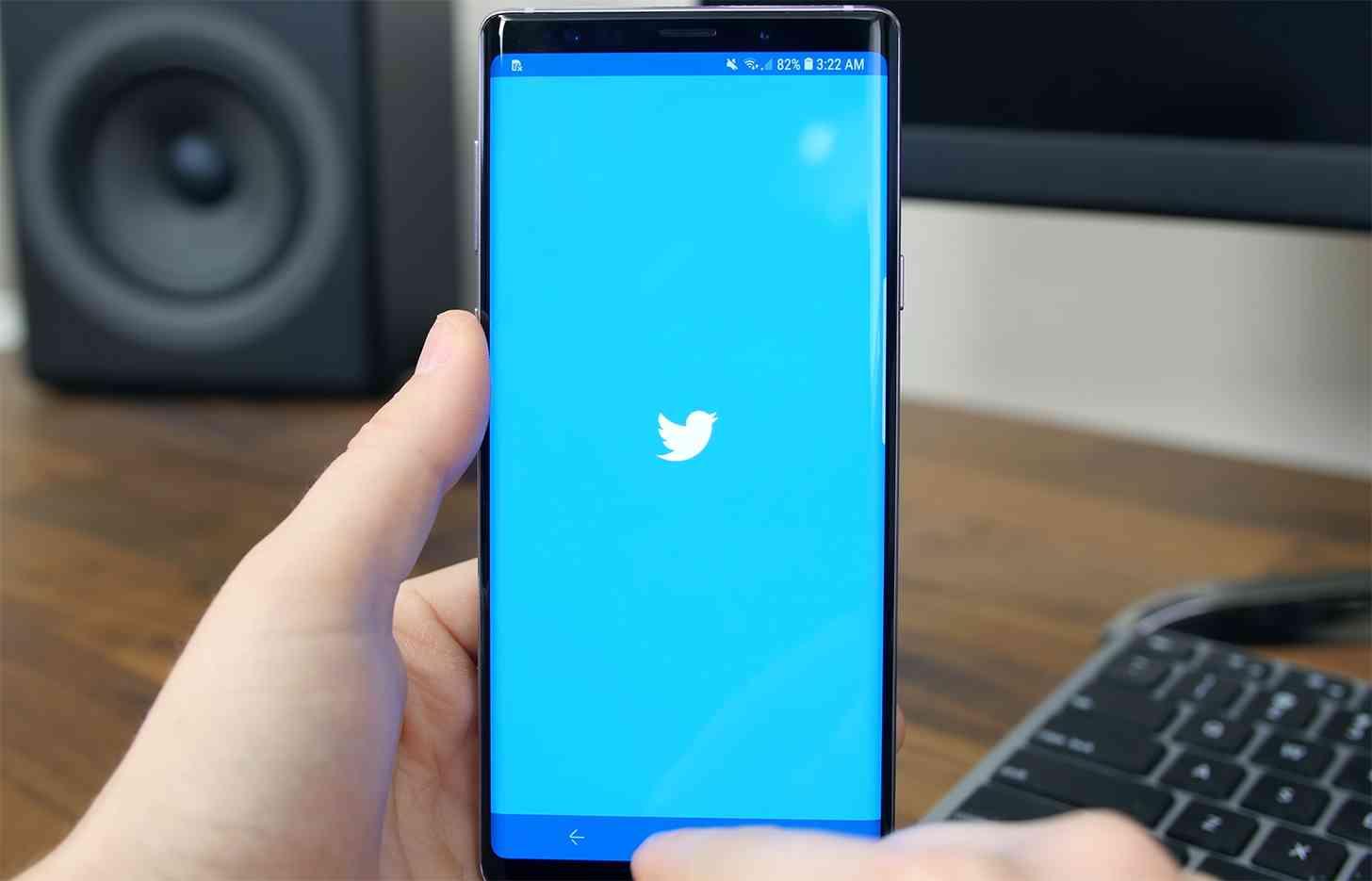 Twitter Samsung Galaxy Note 9