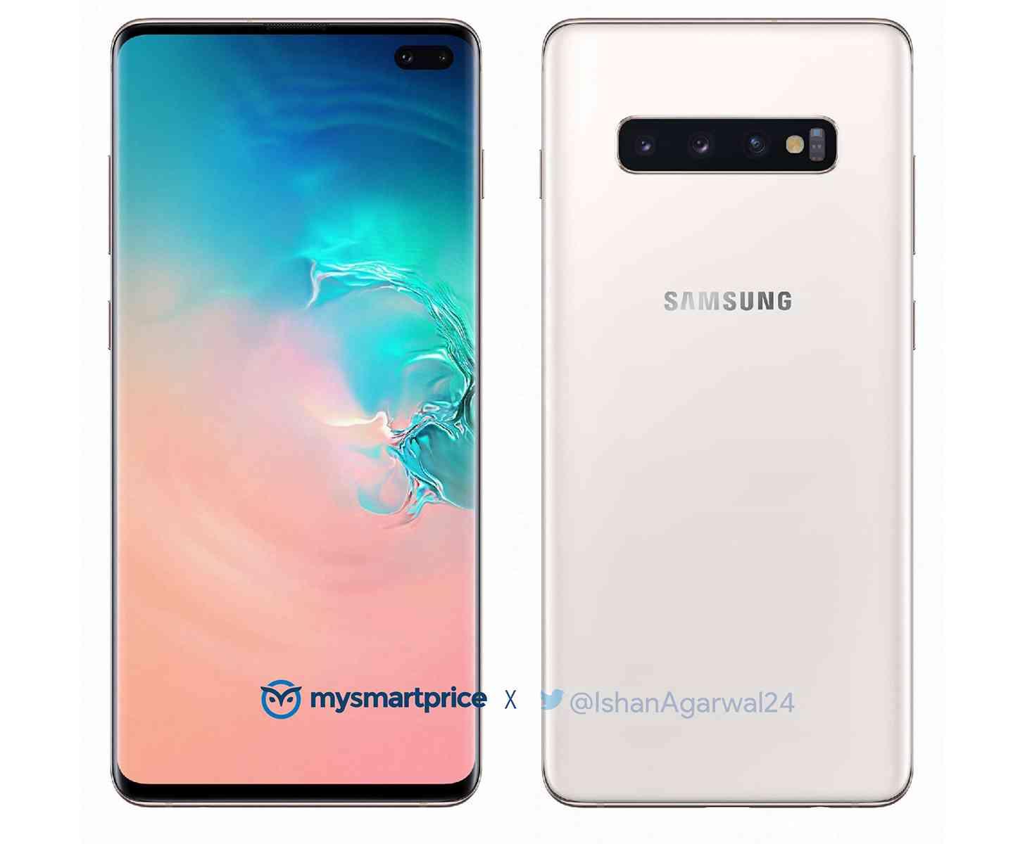 Samsung Galaxy S10+ Luxurious Ceramic White