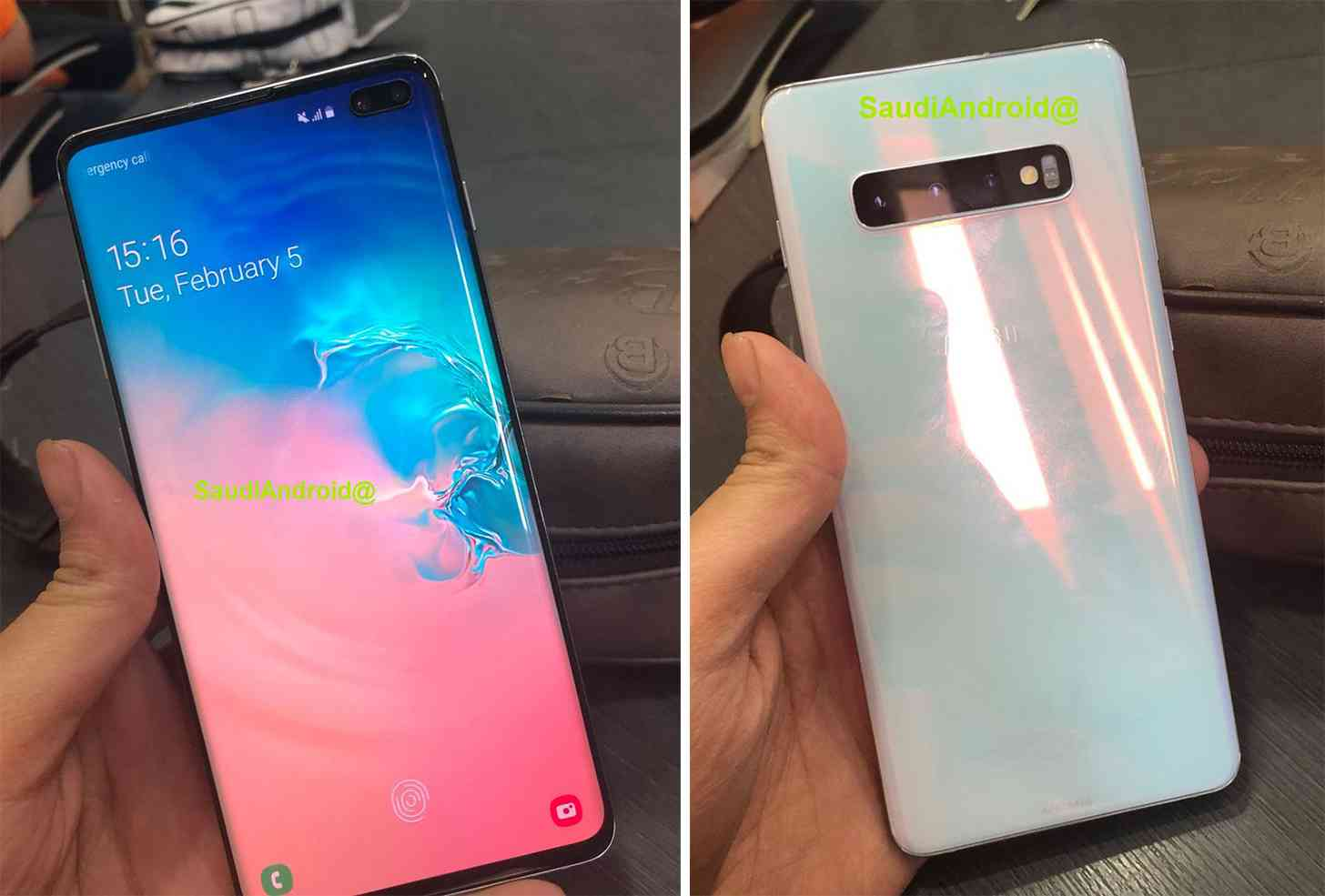 Samsung Galaxy S10+ in-display fingerprint sensor