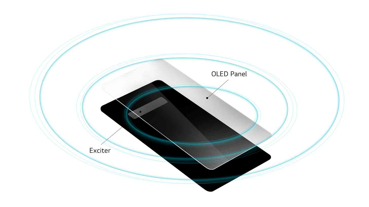LG G8 ThinQ Crystal Sound OLED