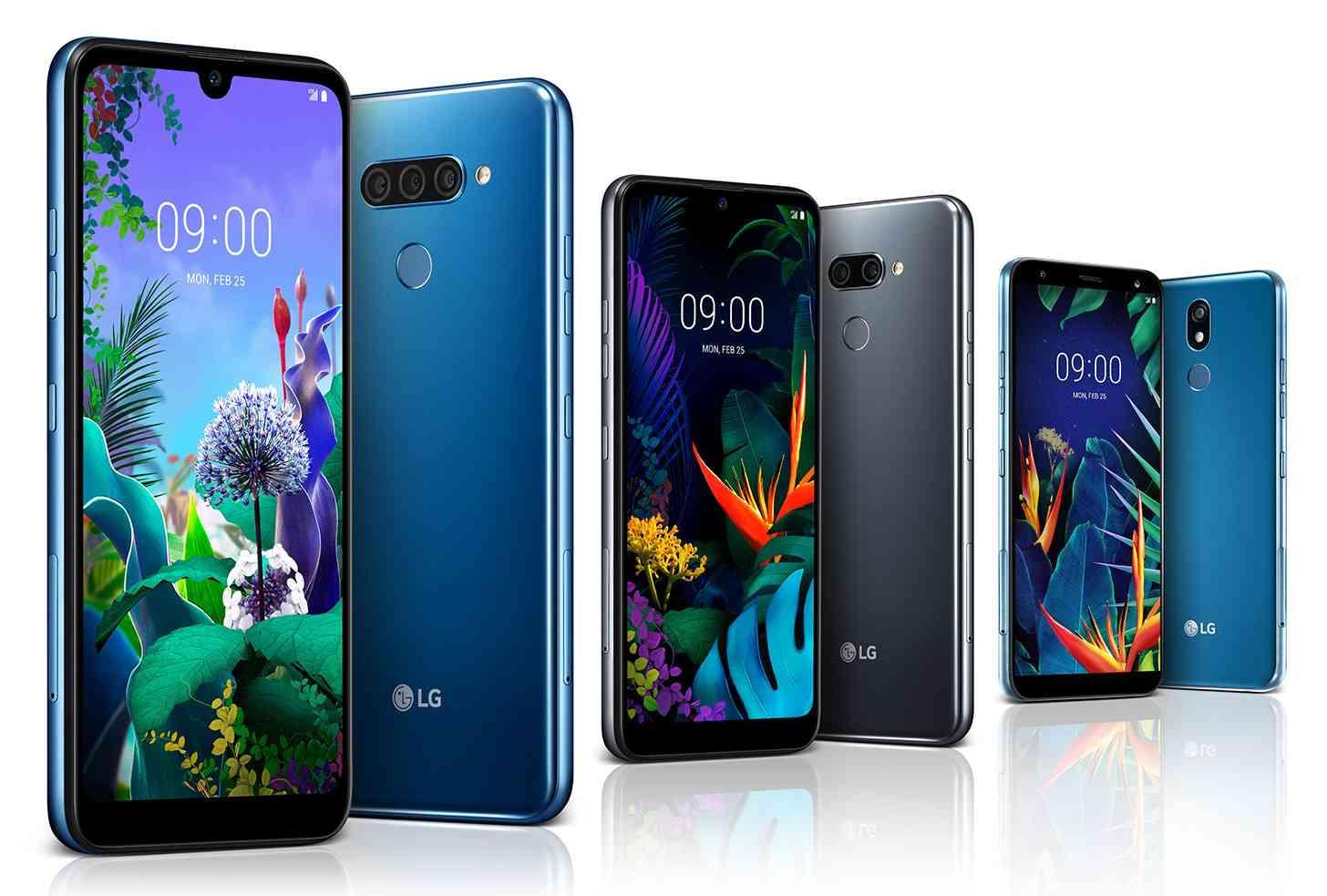 LG Q60, K50, K40