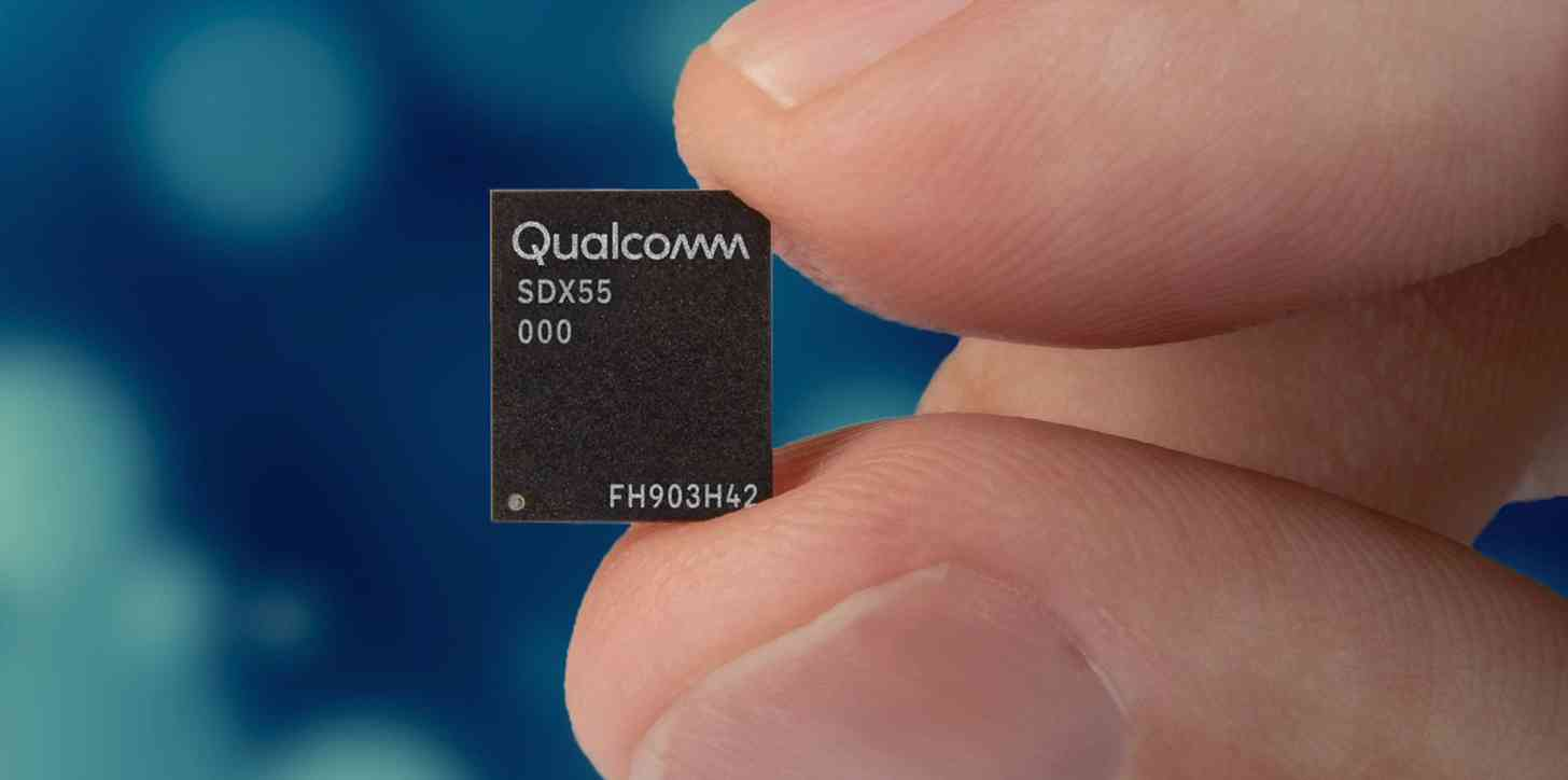 Qualcomm Snapdragon X55 5G modem